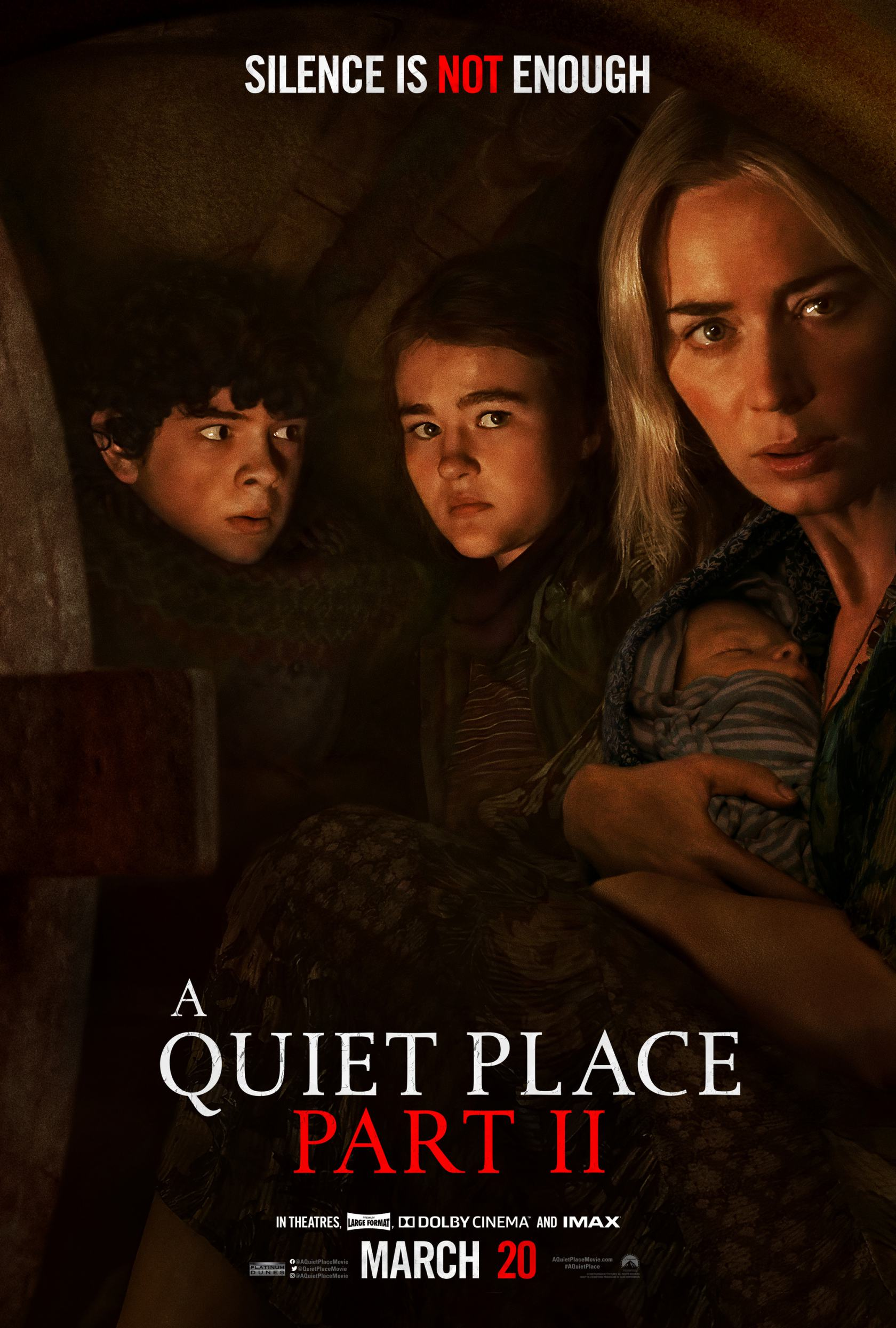 A Quiet Place Part II Poster #2