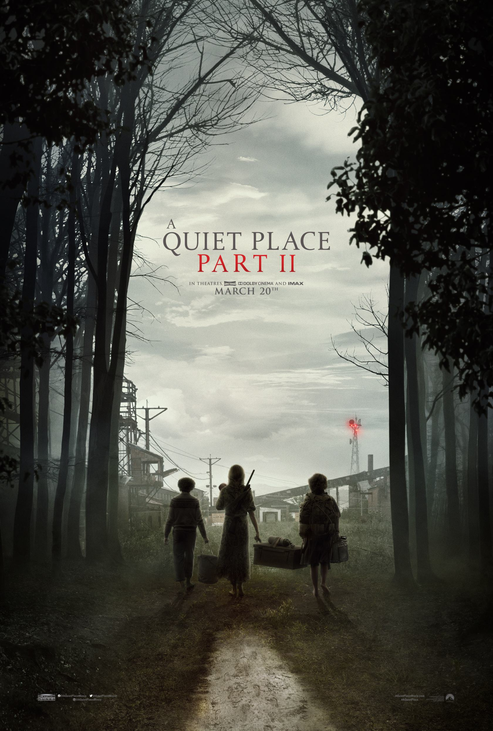 A Quiet Place Part II Poster #1