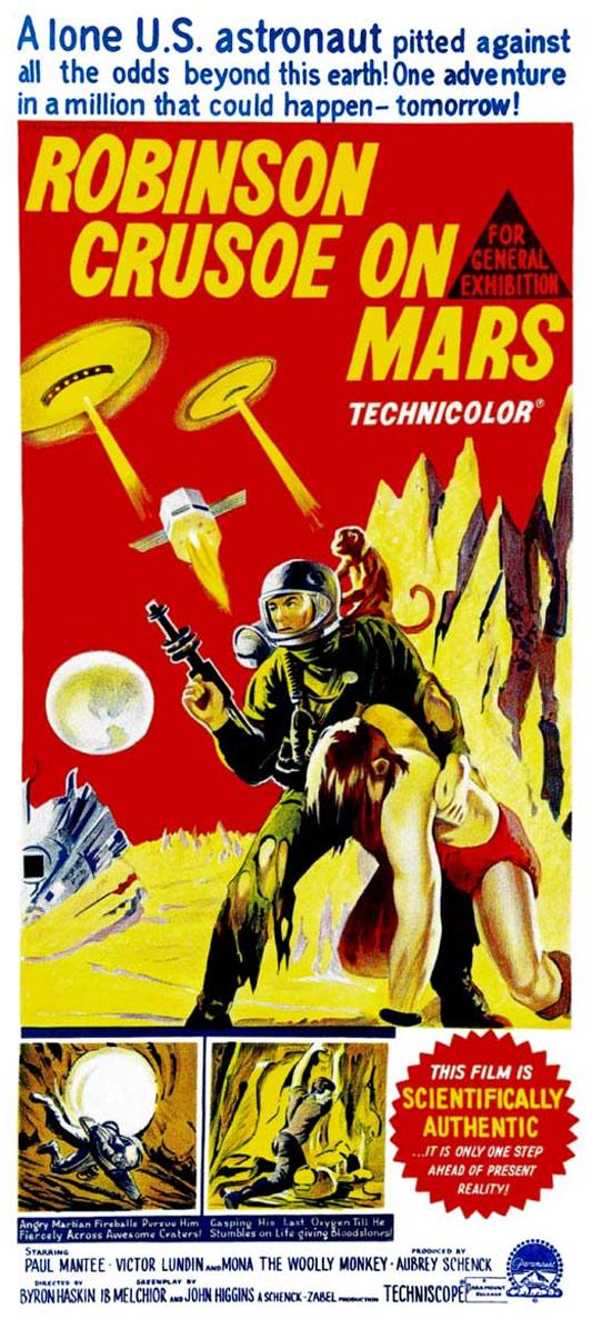 Robinson Crusoe on Mars Poster #3