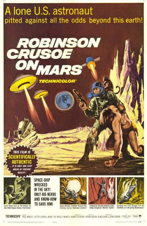 Robinson Crusoe on Mars Poster #1