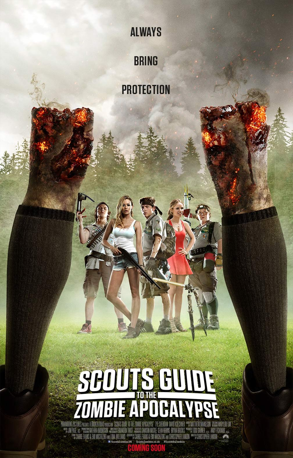 Scouts Guide to the Zombie Apocalypse Poster #2