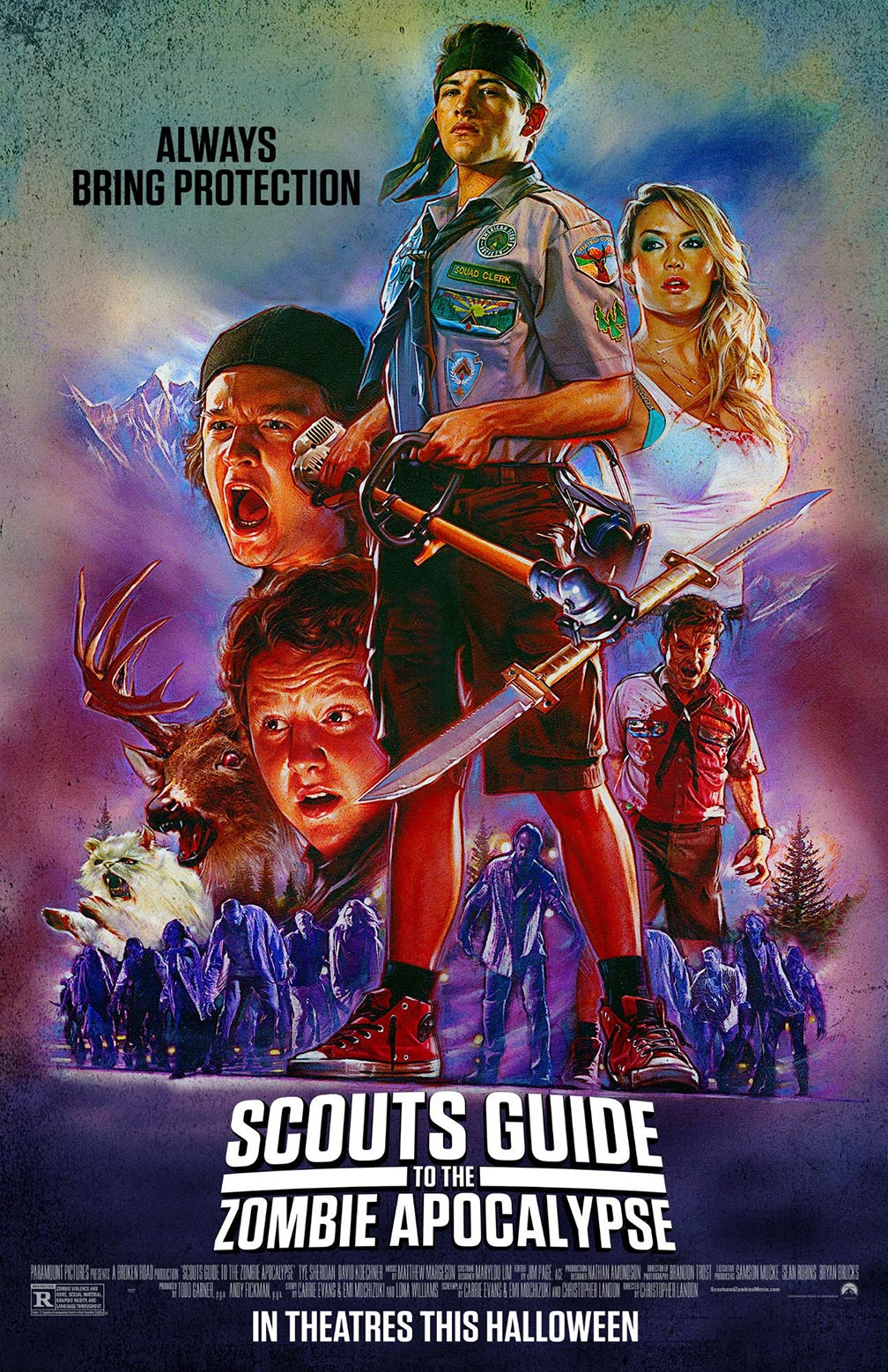 Scouts Guide to the Zombie Apocalypse Poster #3