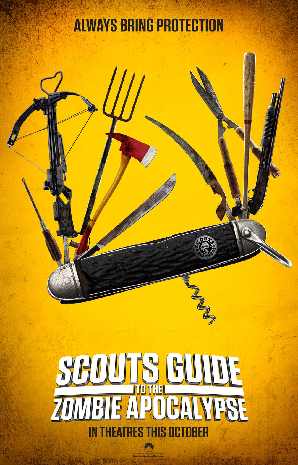 Scouts Guide to the Zombie Apocalypse Poster #1