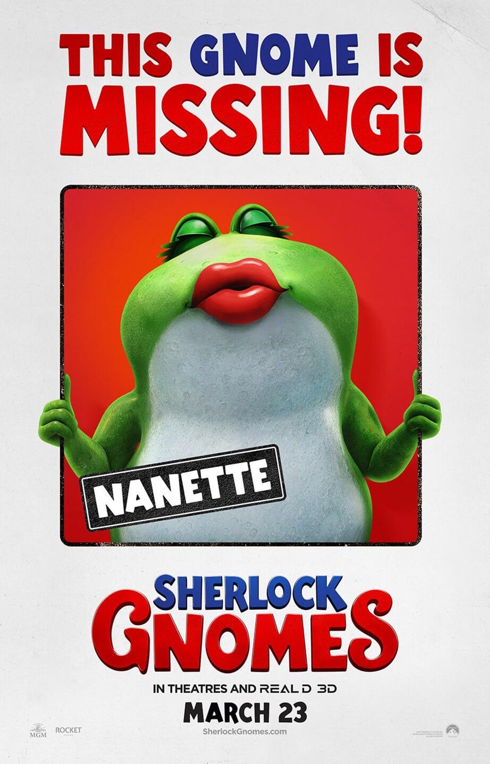 Sherlock Gnomes Poster #2