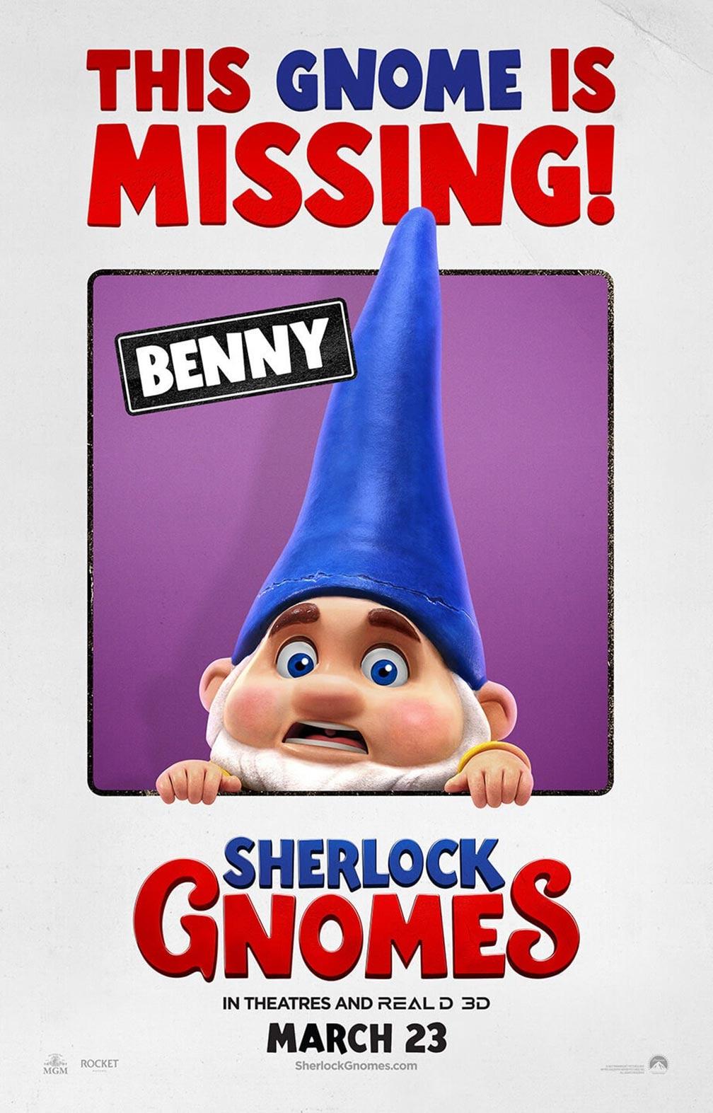 Sherlock Gnomes Poster #5