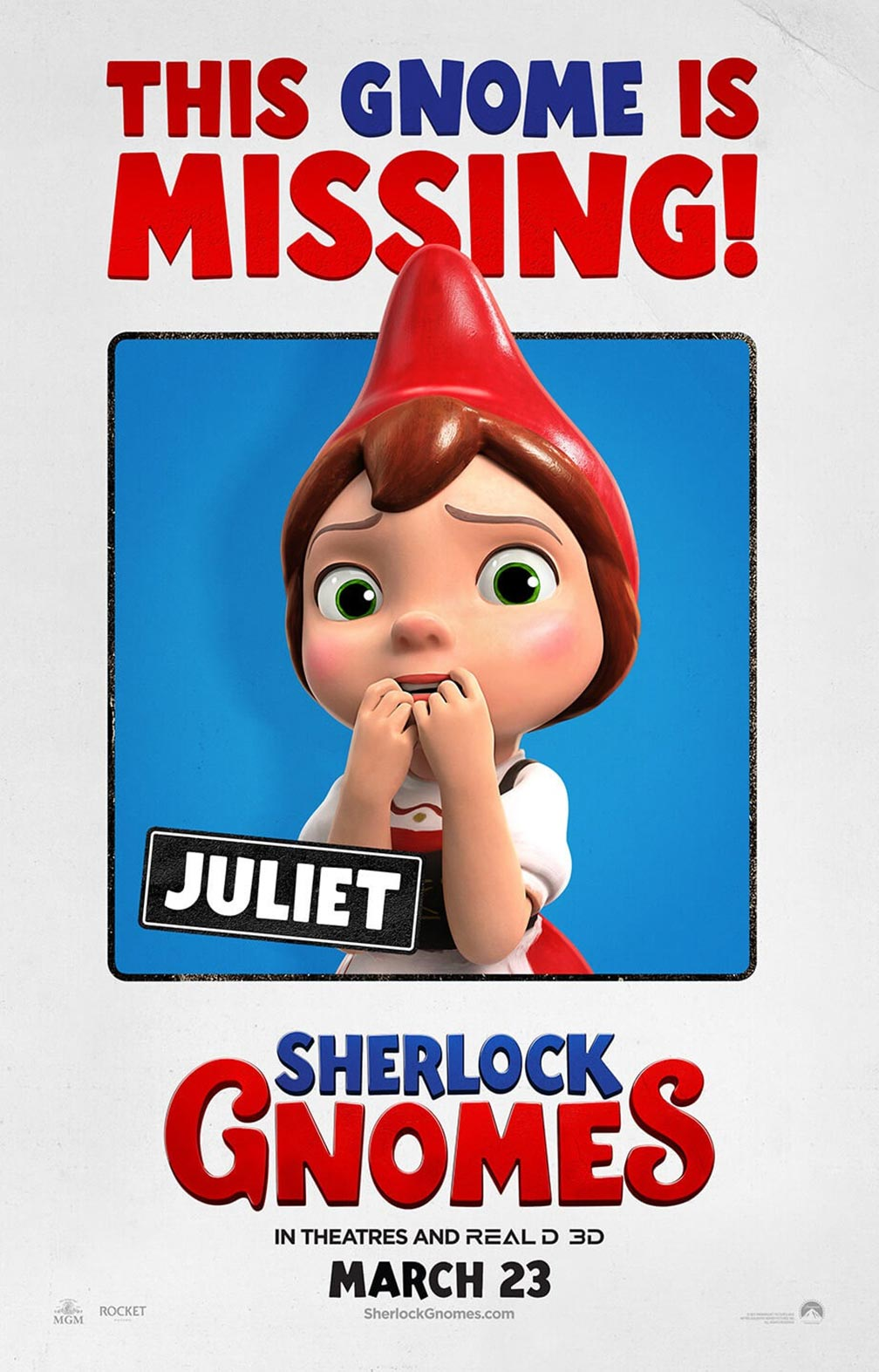Sherlock Gnomes Poster #6