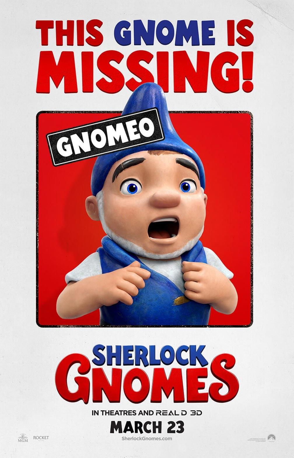 Sherlock Gnomes Poster #7