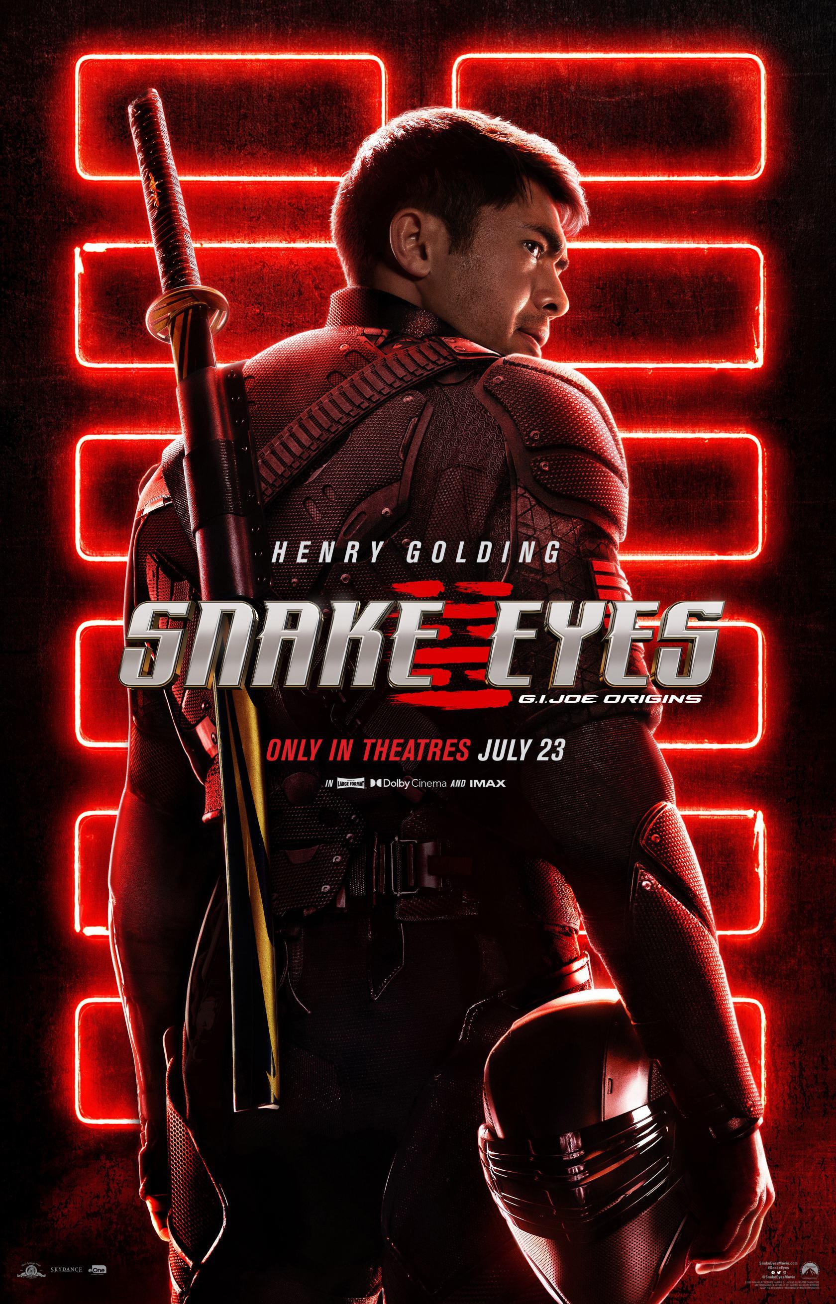 Snake Eyes: G.I. Joe Origins Poster #1