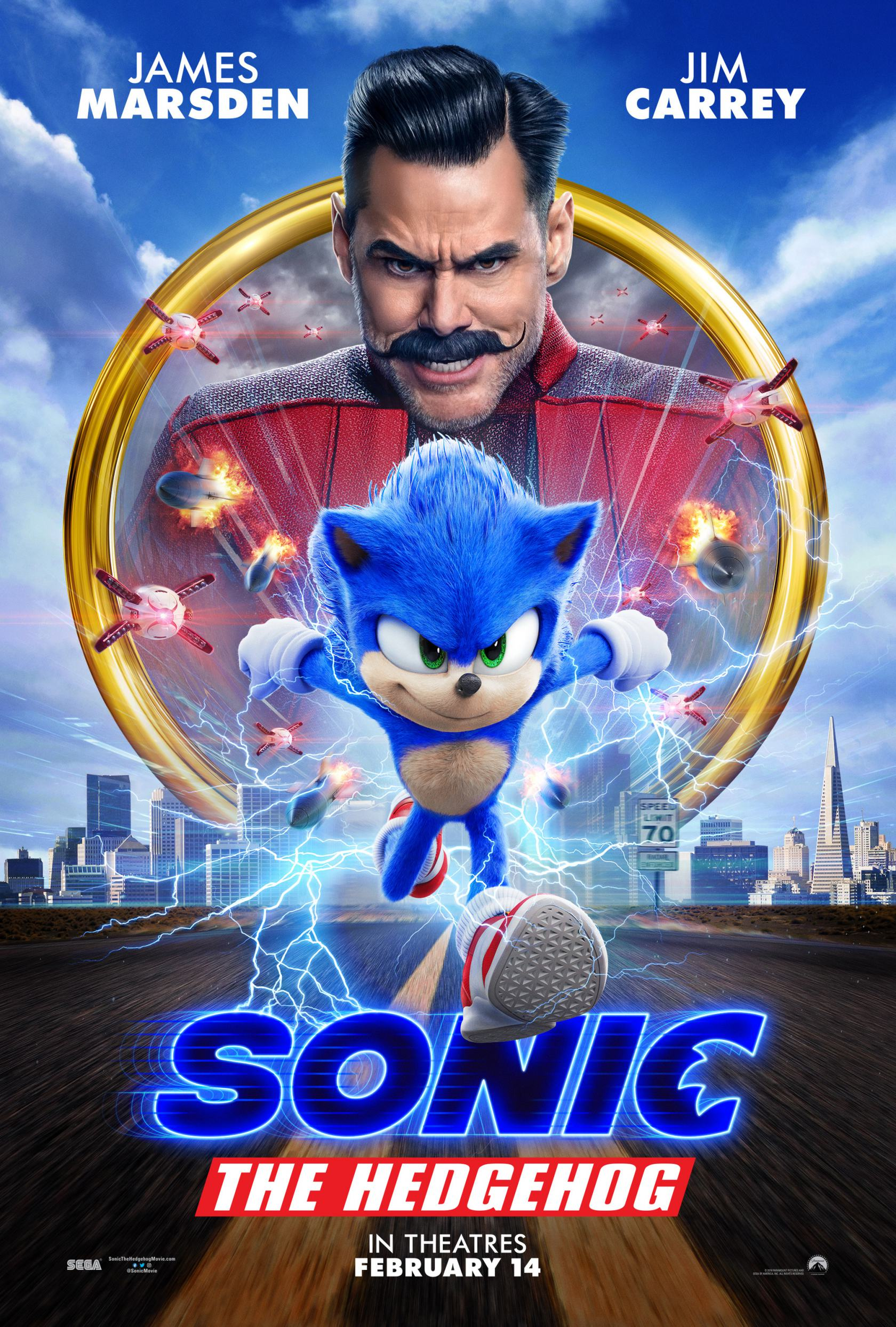 Sonic the Hedgehog Poster #2