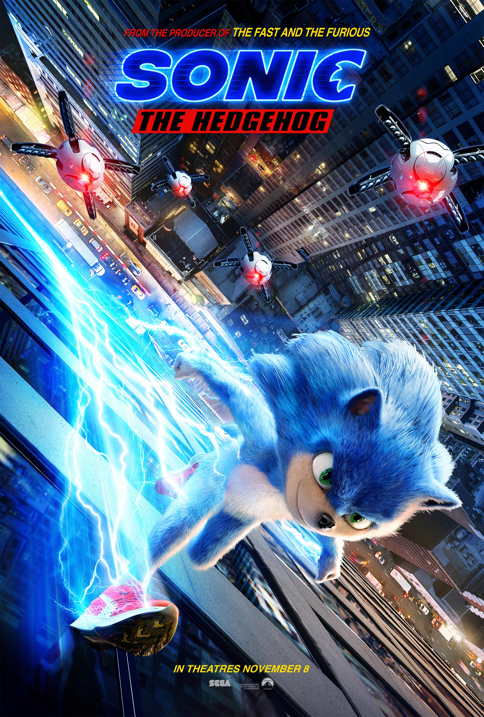 Sonic the Hedgehog Poster #1