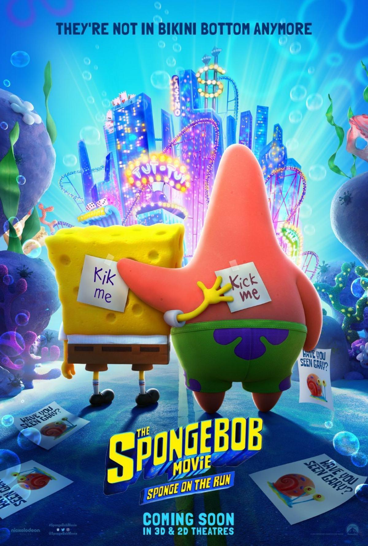 The SpongeBob Movie: Sponge on the Run Poster #1