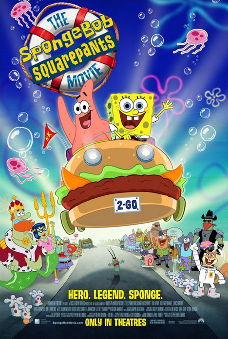 The SpongeBob SquarePants Movie Poster #1