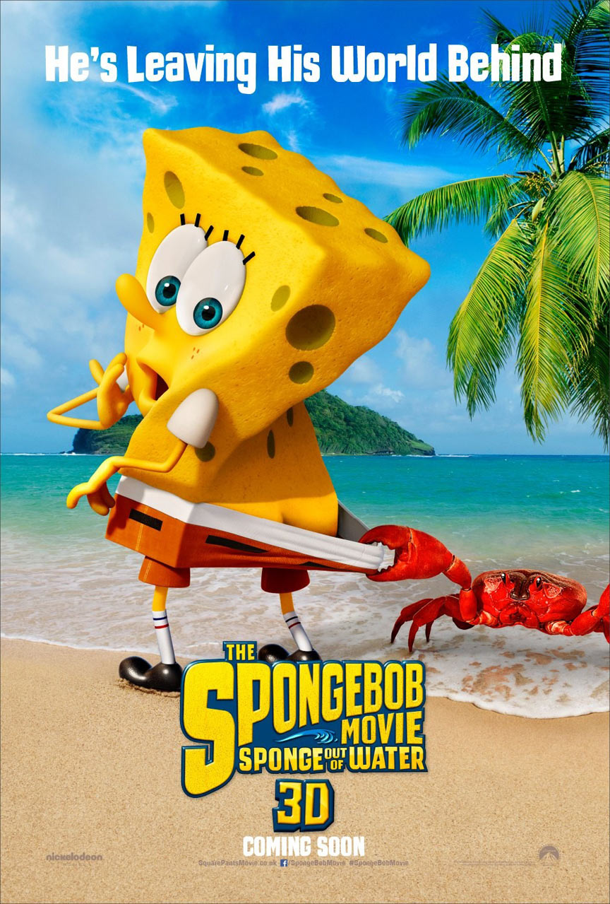The Spongebob Movie: Sponge Out Of Water Poster #1