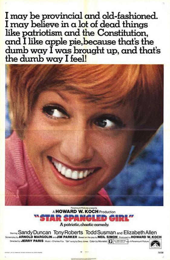 Star Spangled Girl Poster #1