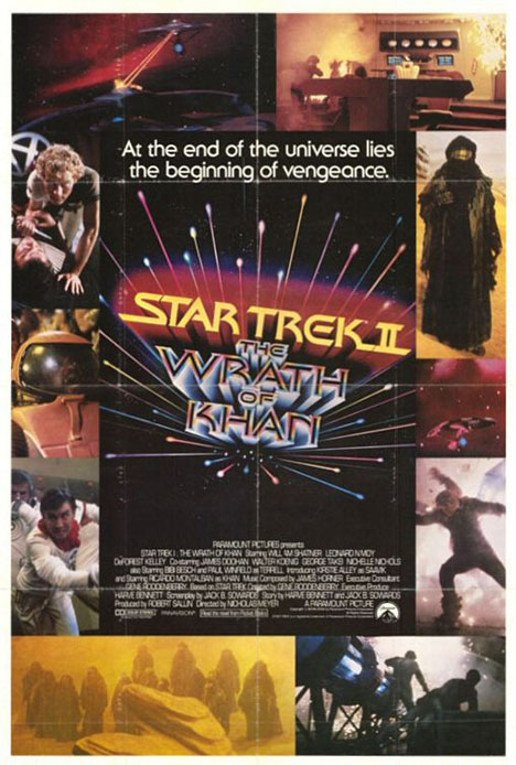 Star Trek II: The Wrath Of Khan Poster #1