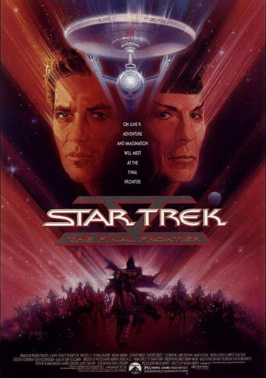 Star Trek V: The Final Frontier Poster #1