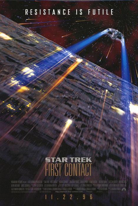 Star Trek: First Contact Poster #1