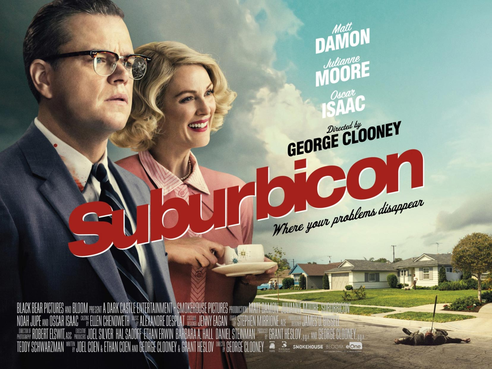 Image result for suburbicon poster