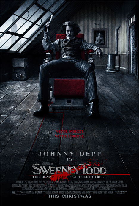 Sweeney Todd: The Demon Barber of Fleet Street Poster #1