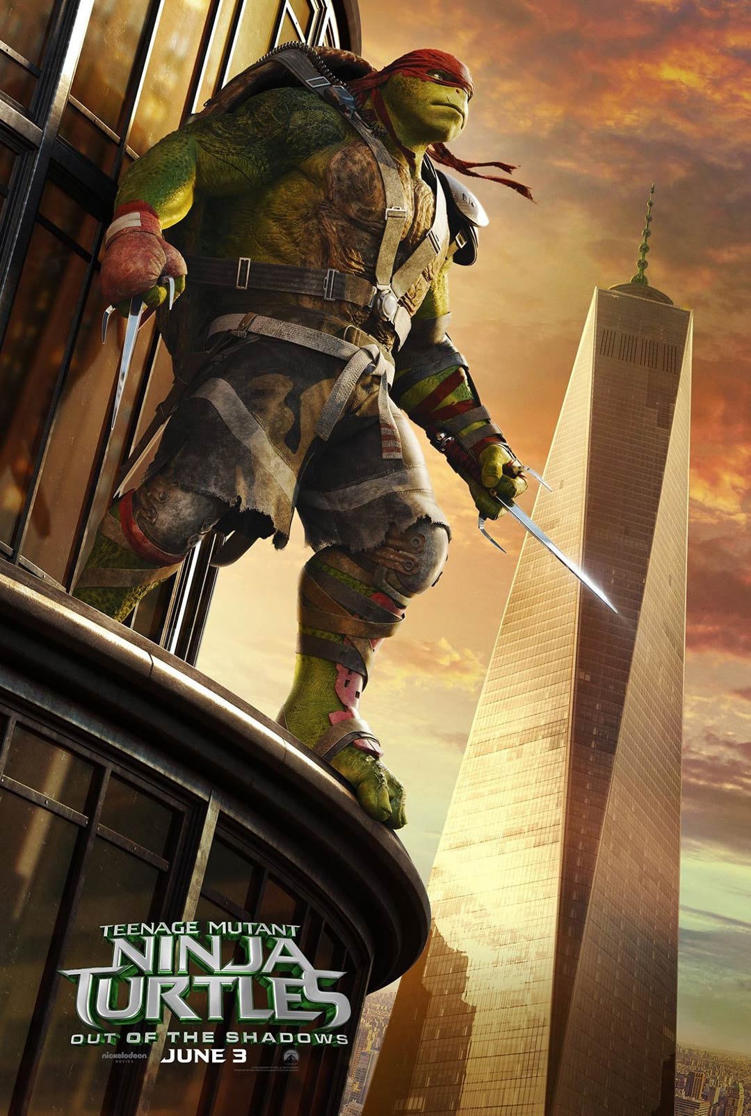 Teenage Mutant Ninja Turtles: Out of the Shadows Poster #4