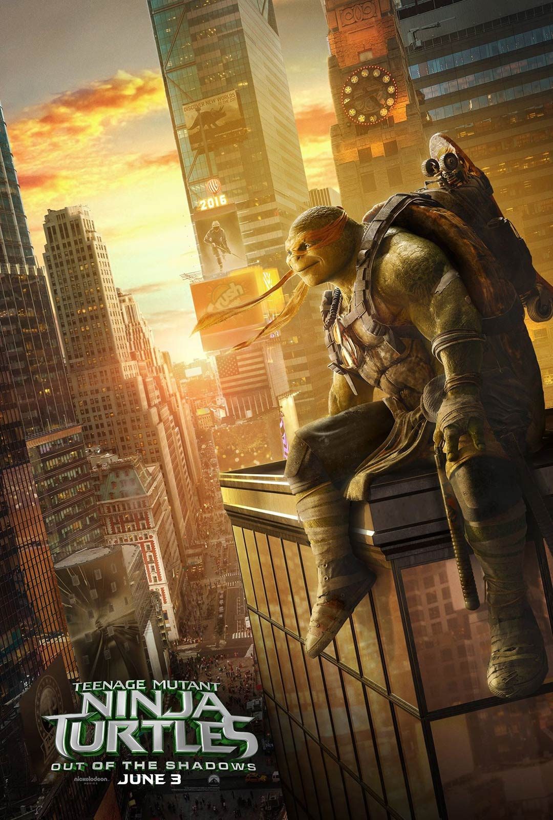 Teenage Mutant Ninja Turtles: Out of the Shadows Poster #5