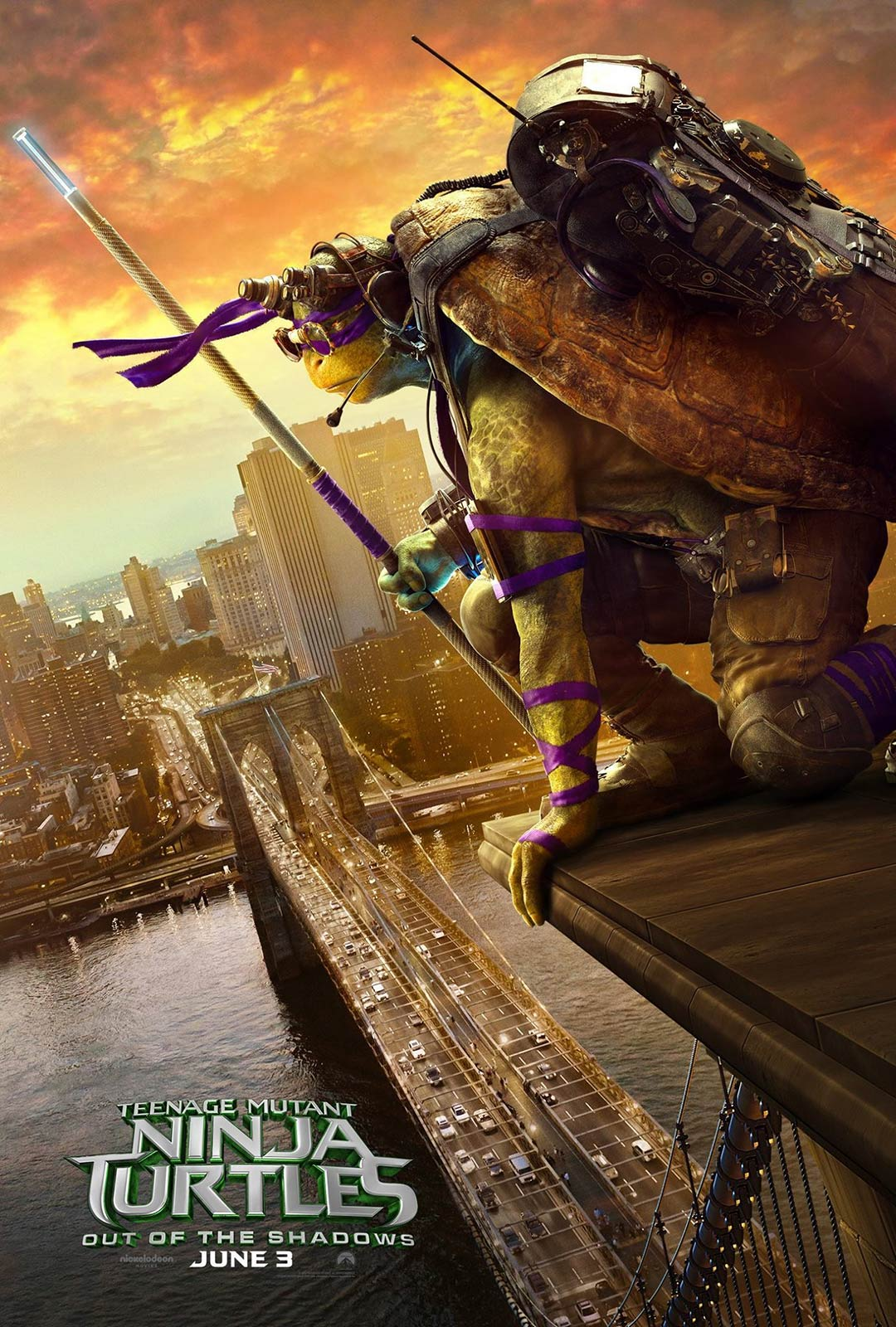 Teenage Mutant Ninja Turtles: Out of the Shadows Poster #6