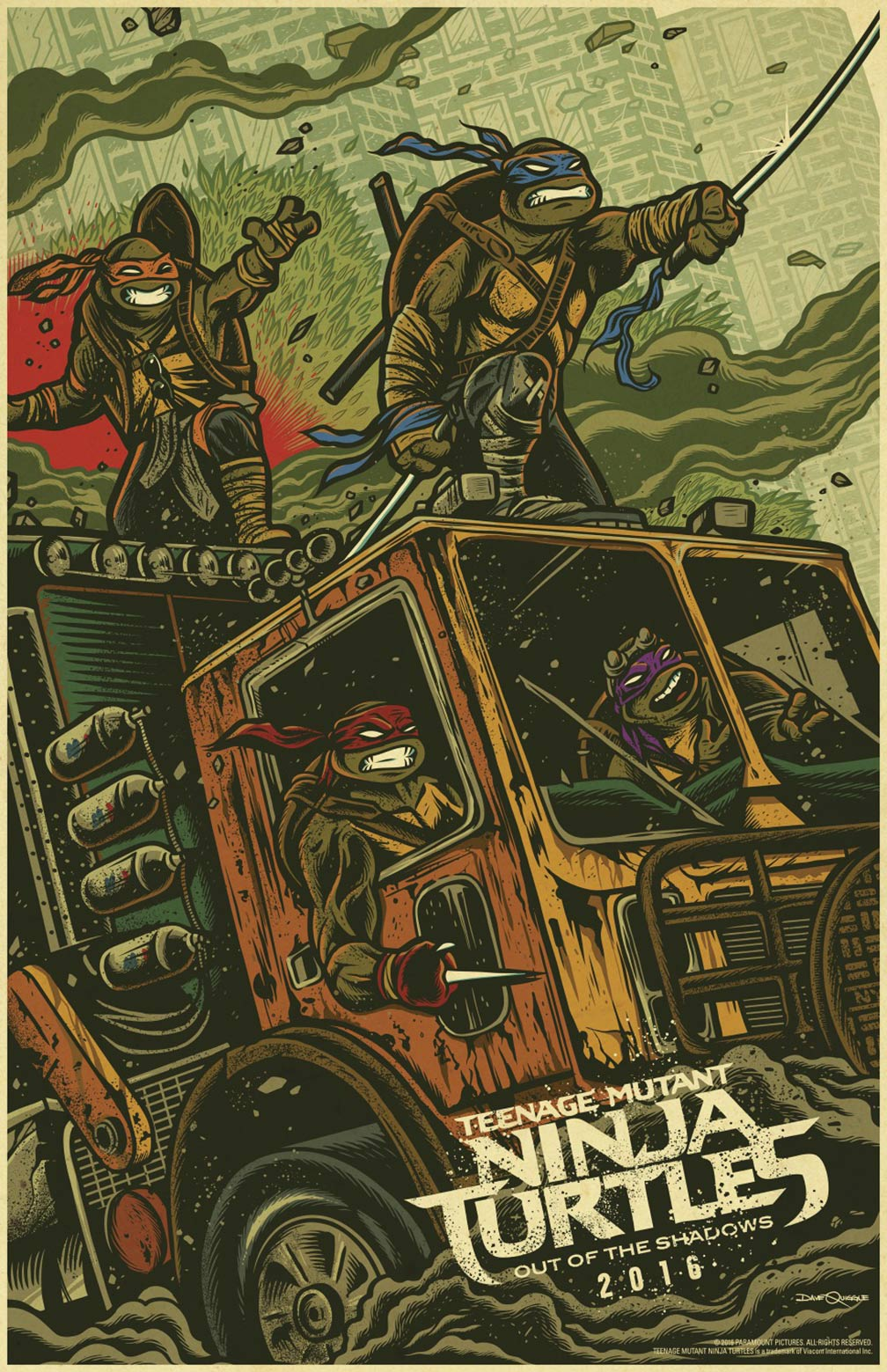 Teenage Mutant Ninja Turtles: Out of the Shadows Poster #9