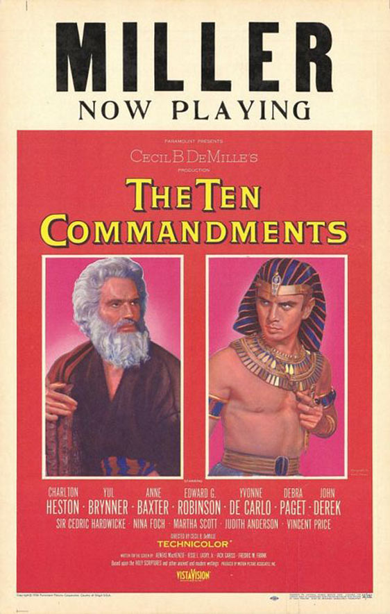 The Ten Commandments Poster #3