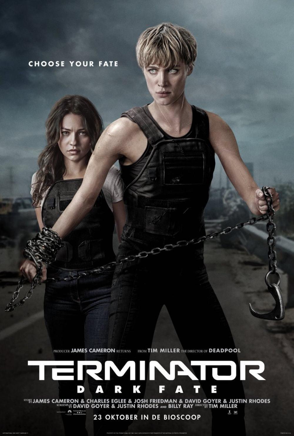 Terminator: Dark Fate Poster #4