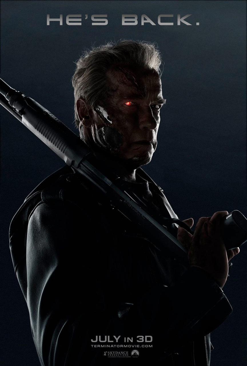 Terminator: Genisys Poster #2