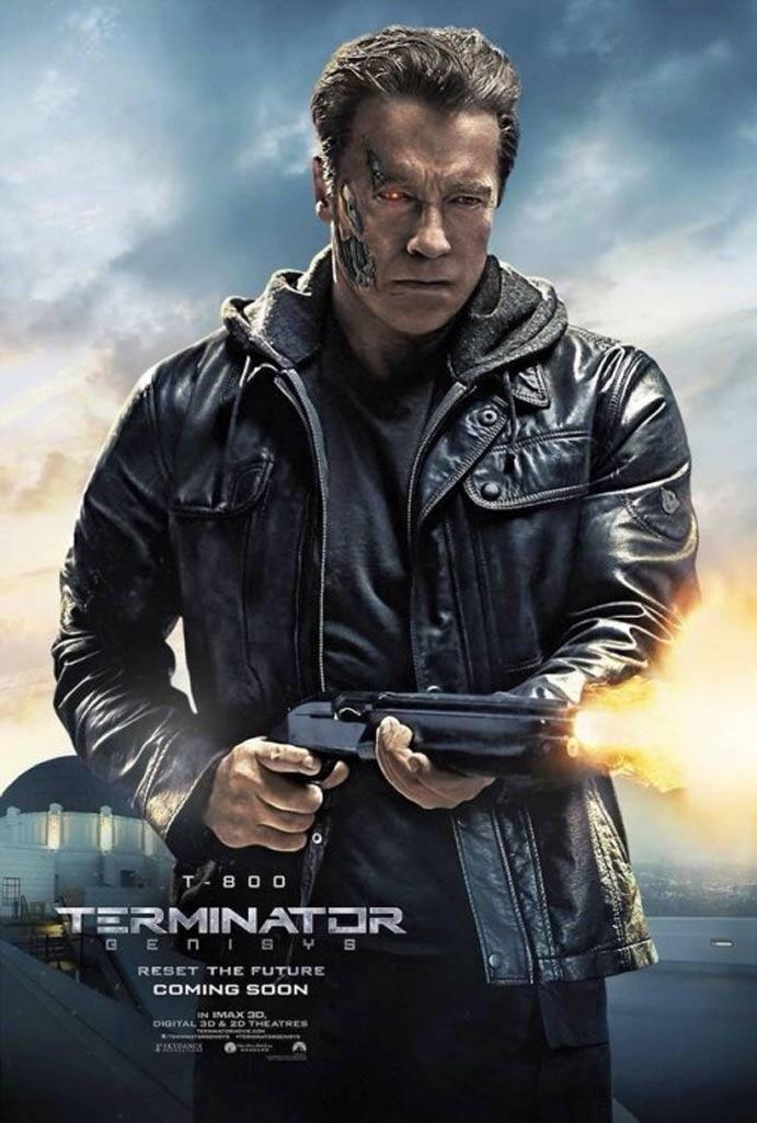 Terminator: Genisys Poster #7