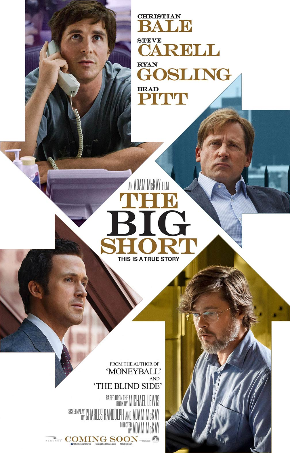 The Big Short Poster #1