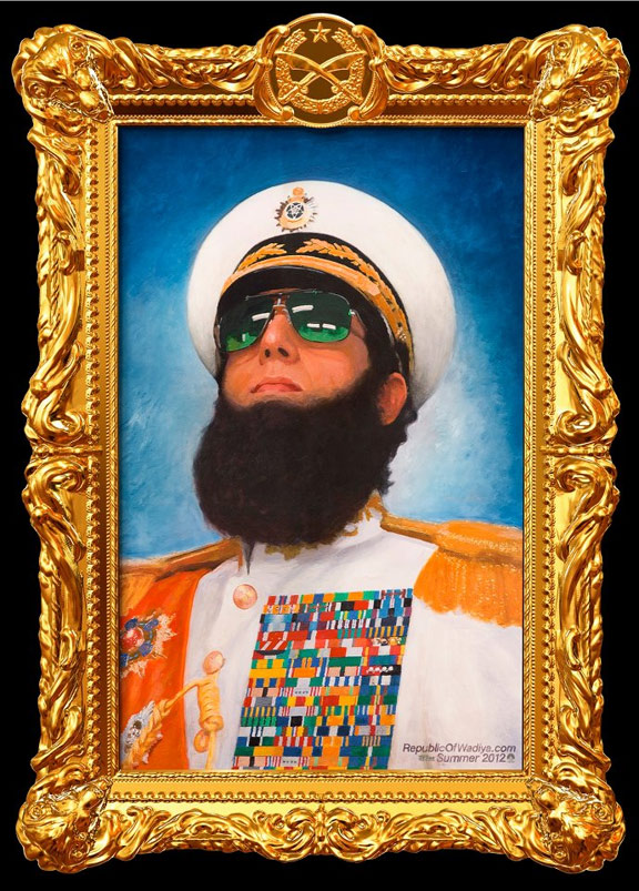 The Dictator Poster #1