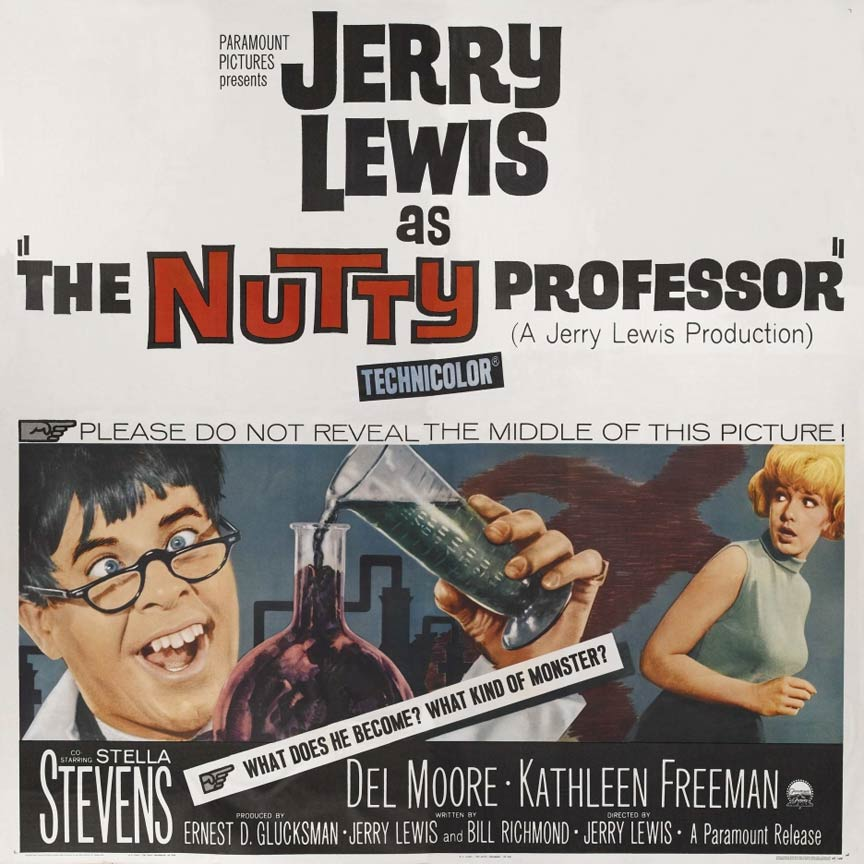 The Nutty Professor (1963) Poster #1 - Trailer Addict