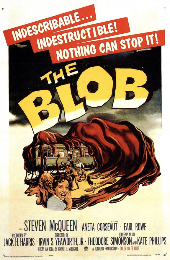 The Blob Poster #1
