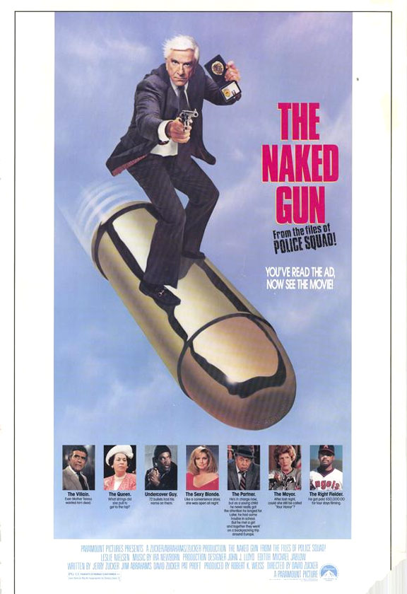 The Naked Gun Poster #1