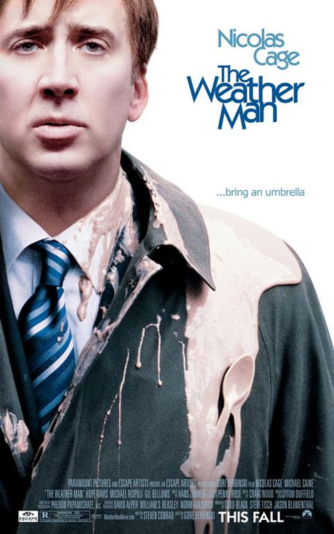 The Weather Man Poster #1