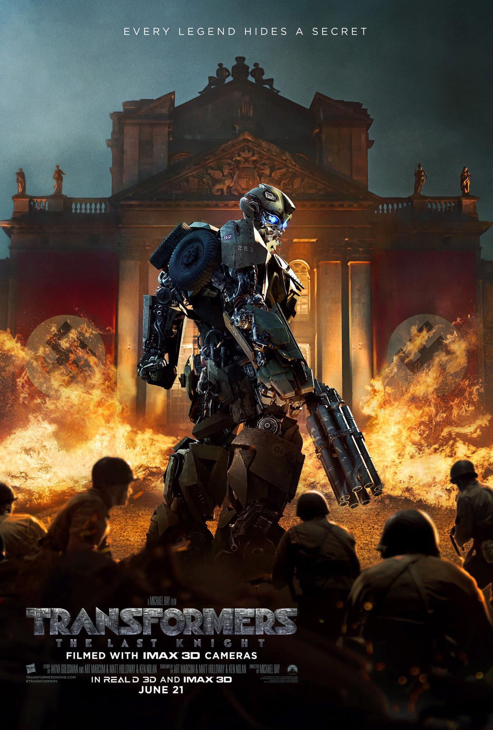 Transformers: The Last Knight Poster #7