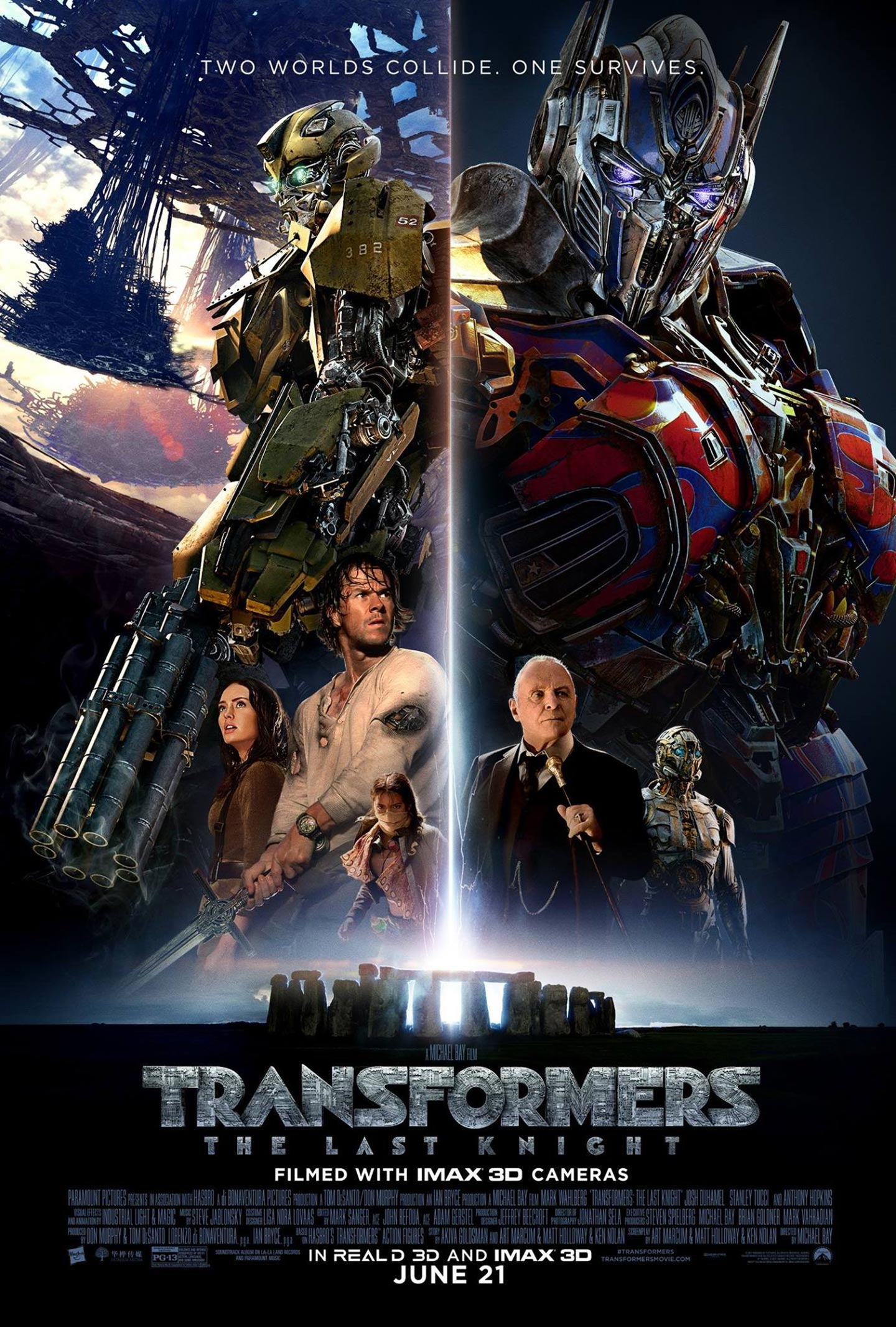 Transformers: The Last Knight Poster #9