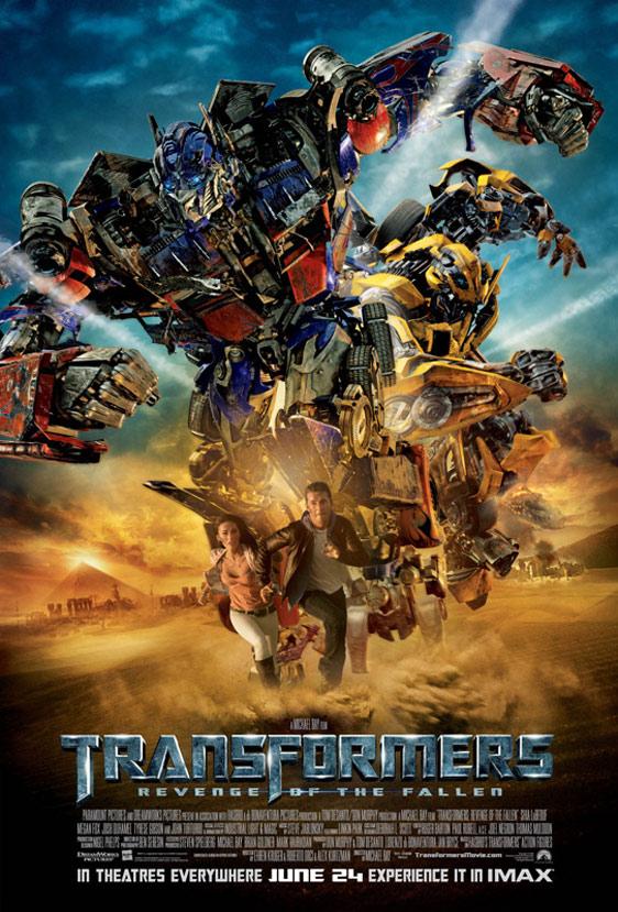 Transformers: Revenge of the Fallen Poster #8