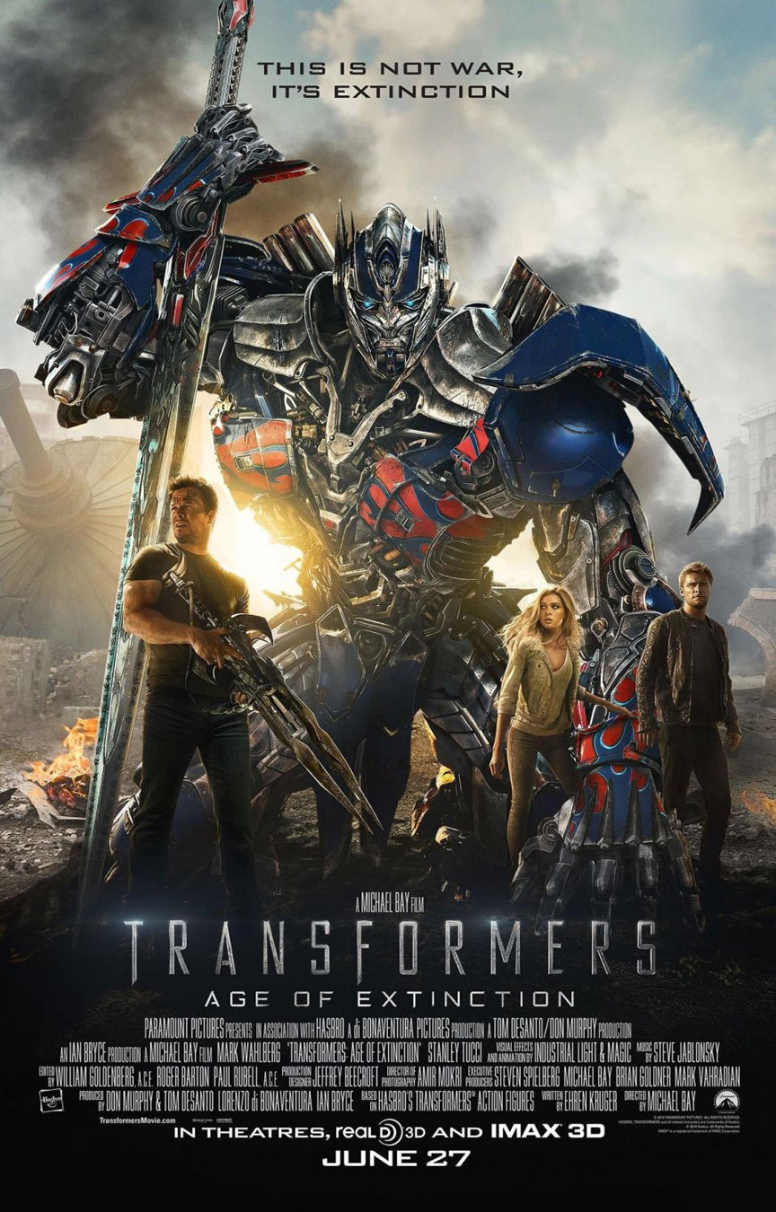 Transformers: Age of Extinction Poster #13