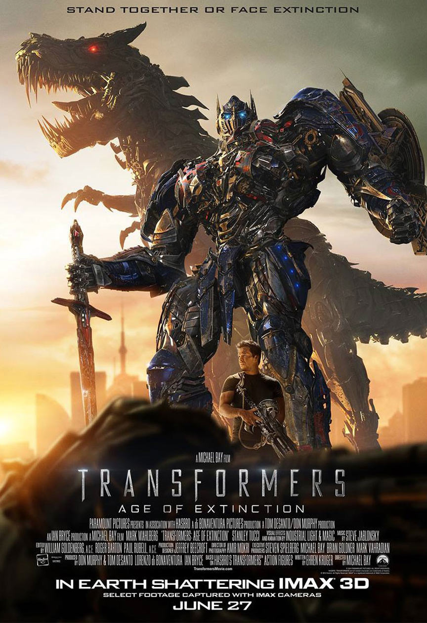 Transformers: Age of Extinction Poster #20