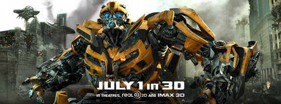 Transformers: Dark of the Moon Poster #4