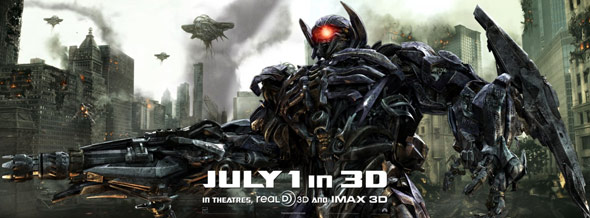 Transformers: Dark of the Moon Poster #5