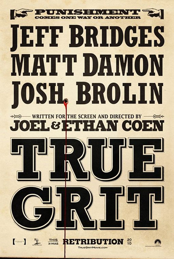 True Grit Poster #1