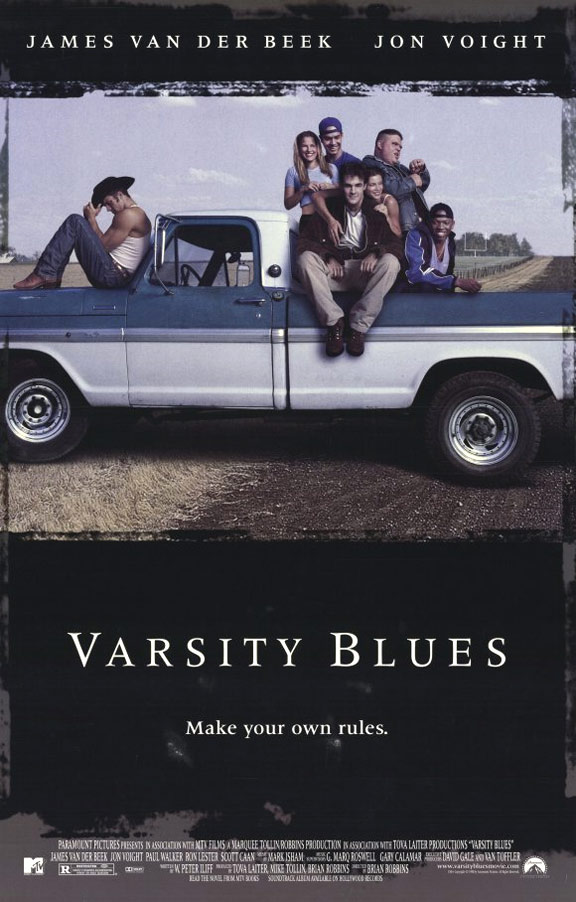 Varsity Blues Poster #1