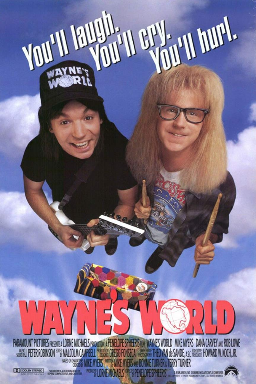 Wayne's World Poster #1