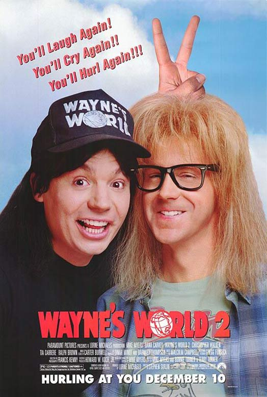 Wayne's World 2 Poster #1