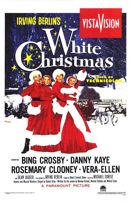 White Christmas Poster #4