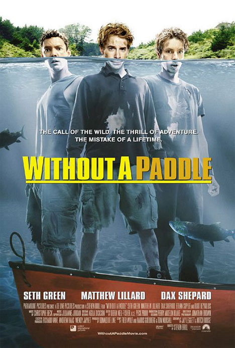 Without a Paddle Poster #1